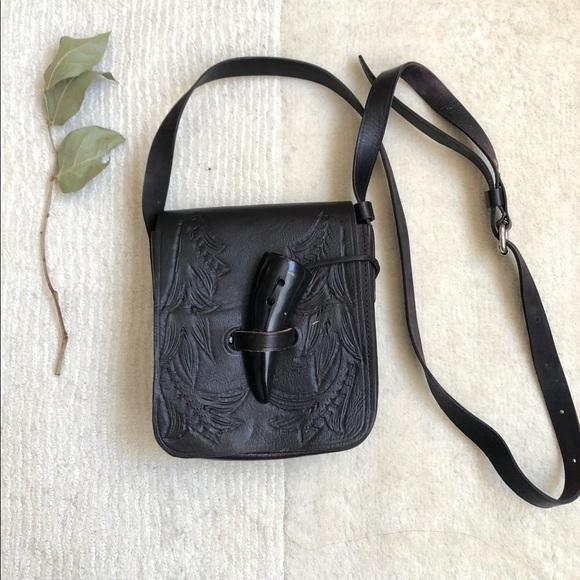 Vintage 70's Chui Genuine Leather Purse Handmade